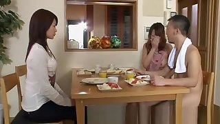 Japanese Hot Couples Plays Sexual connection Games Nude At one's disposal Home