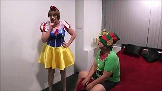Xmas Panto Snow White Pt1 - BarbySlut