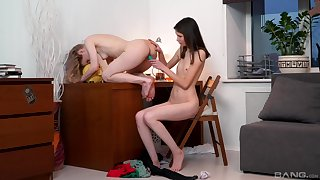 Massive oral pleasures be useful to both lesbians