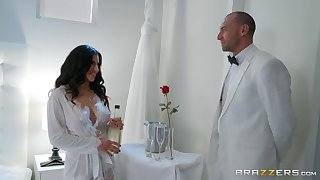 Gabriela Lopez gets her cunt licked and fucked by her horny friend
