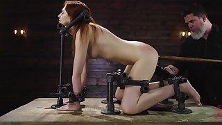 Anal maledom for the female slave Maya Kendrick