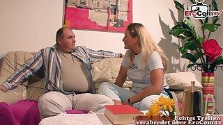German blonde big tits milf mother fuck