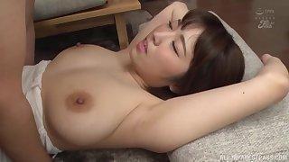 Natural boobs Asian girl Matsumoto Nanami moans during on the mark carnal knowledge