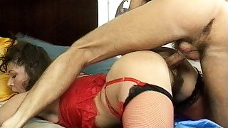 busty stepmom's hairy nuisance destroyed