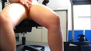 Masturbationsgruss von der Arbeit