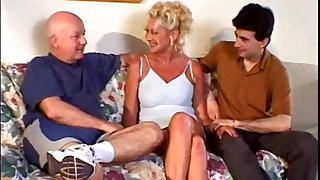Cuckold Archive, Mature wife gets her ass stuffed by BBC