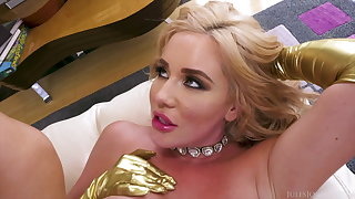 Ass Goddess Savannah Bond Worships 12 Inches Of Steel Flannel