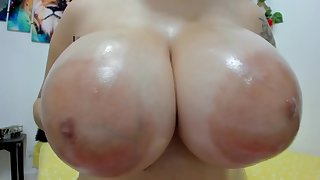 Immense puffy nipples and Immense breasts resolve up - Fetish